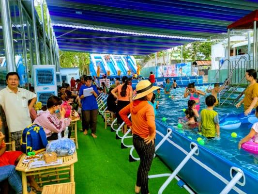 báo giá thi công lắp đặt hồ bơi kinh doanh