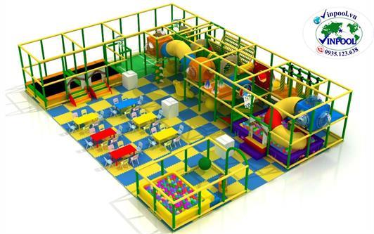 mẫu khu vui chơi trẻ em
